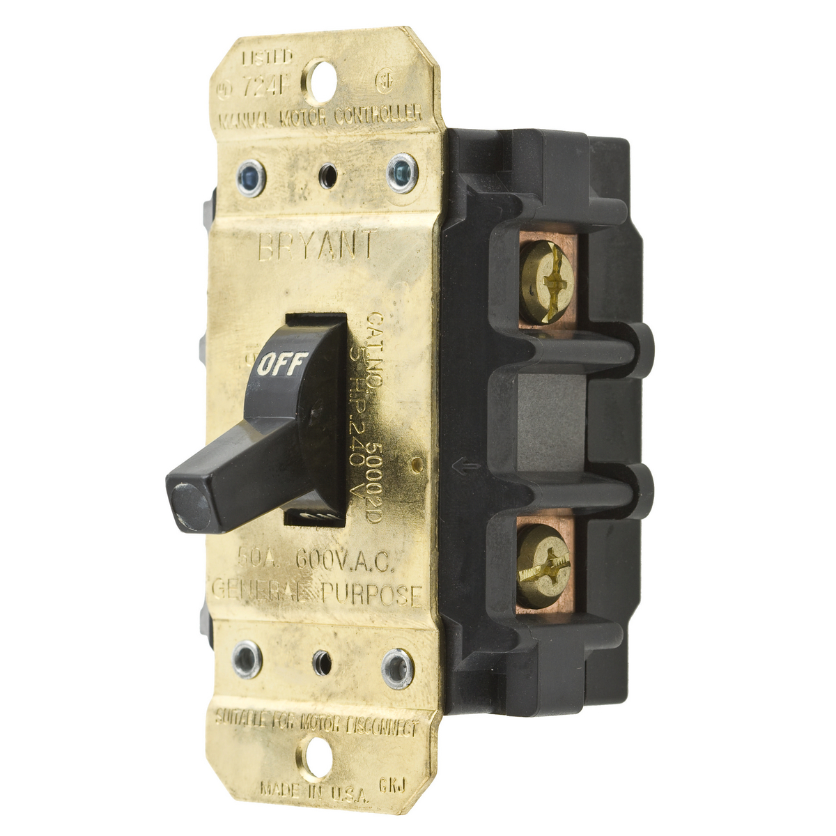 Bryant Double Pole Switch Wiring Just Another Diagram Blog Light Single Throw 50002d Brand Rh Hubbell Com