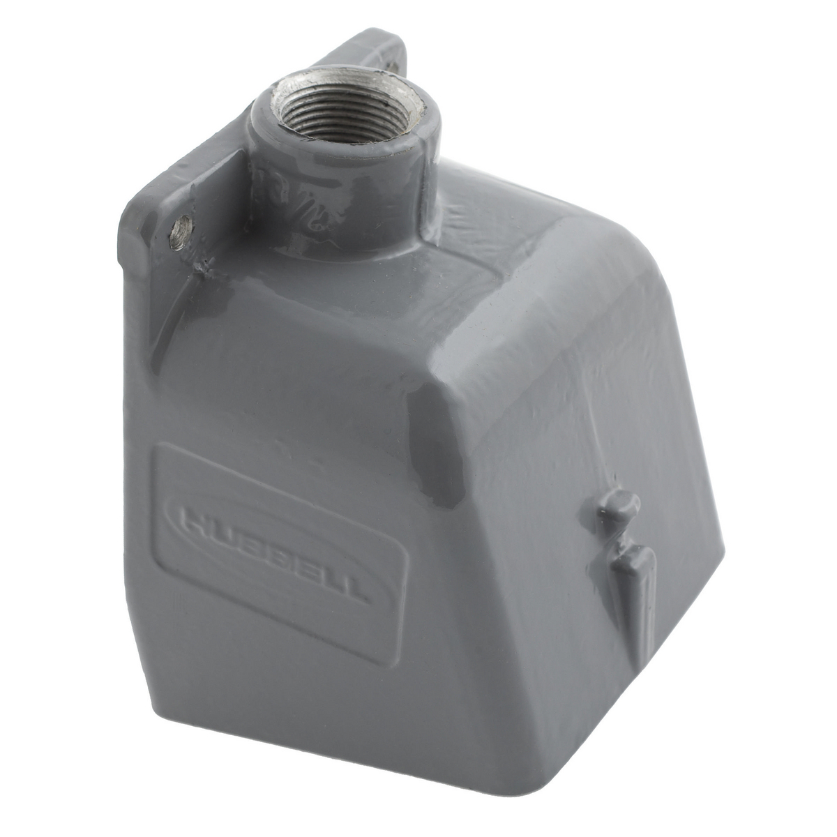Hubbell BB1001W 1-1/2 Inch Metallic 15 Degrees Watertight IEC Pin and Sleeve Back Box
