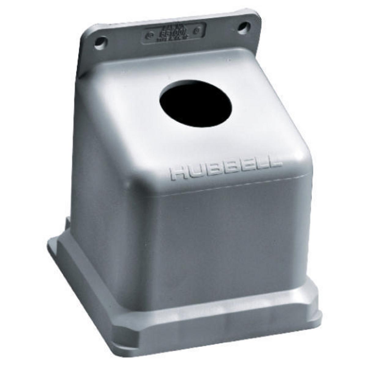 HUBBB100N PS, IEC, ANG BOX, 100A, 1 1/2IN , NM ,BB100N, HUBBELL
