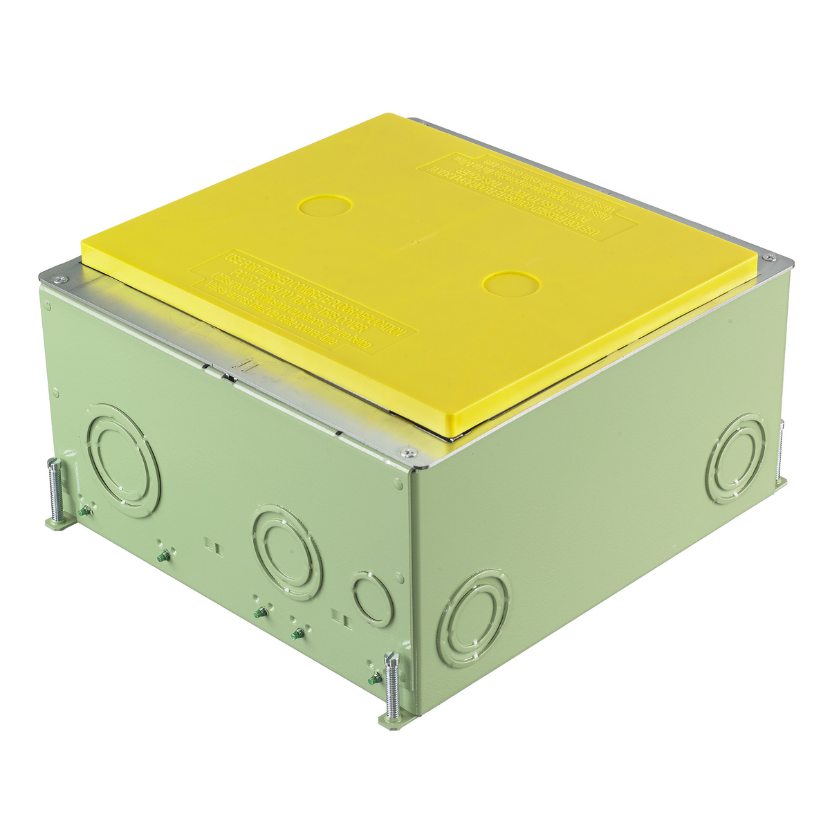 Premise Wiring Hubbell Cfb10g55cr Device Kellems Floor Boxes Cfb Series Recessed 10