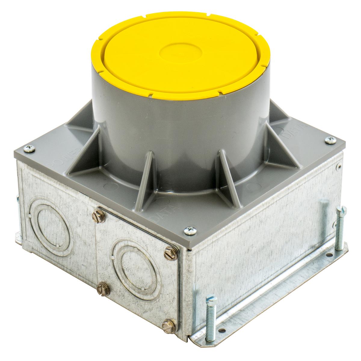 S1R FB 4 STAMPED STEEL FLOOR BOX
