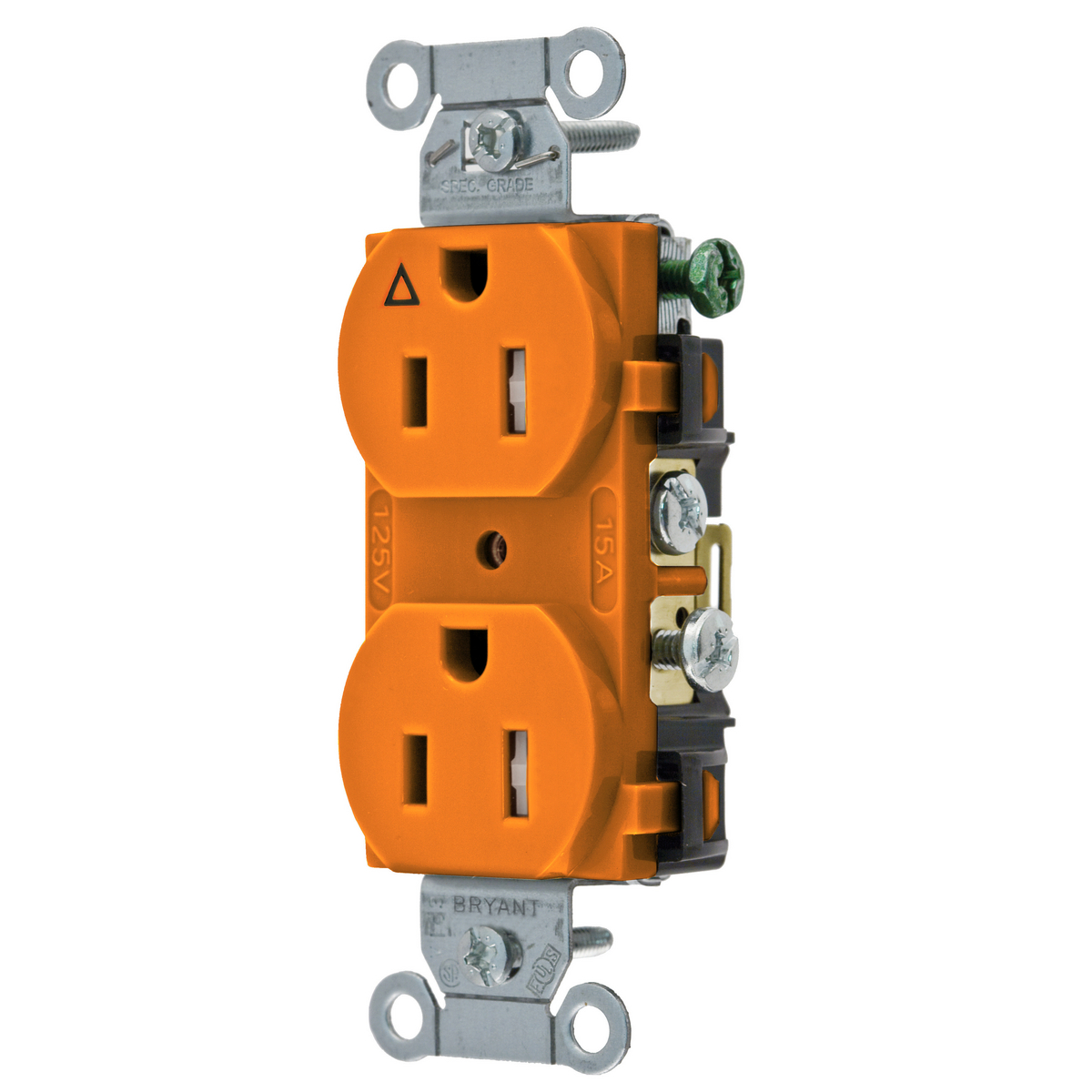 cr15ig construction commercial receptacles straight blade rh hubbell com bryant wiring devices cross reference bryant wiring devices catalog