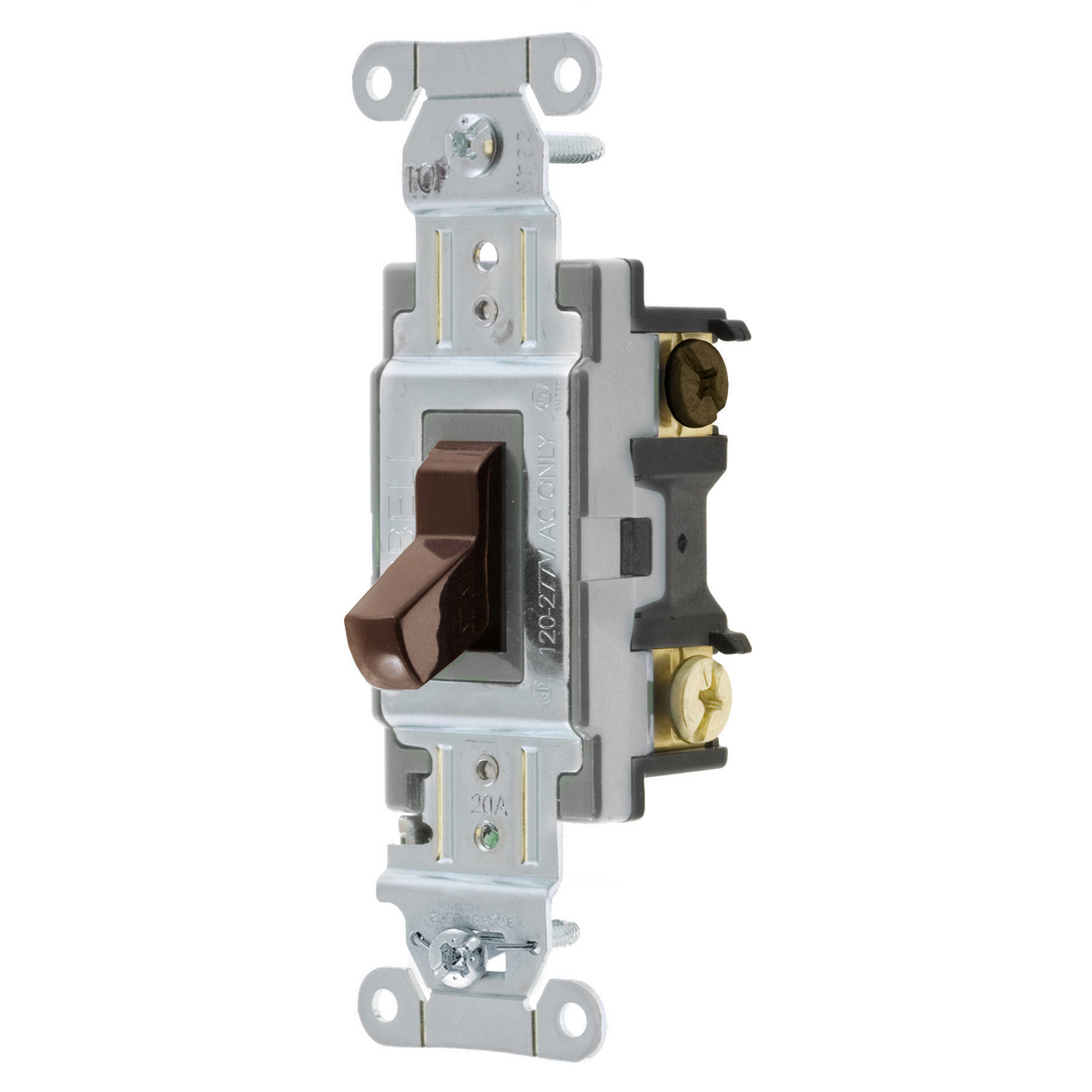 Hubbell CSB320 SWITCH, COMM, 3W, 20A 120/277V, B+S, BR