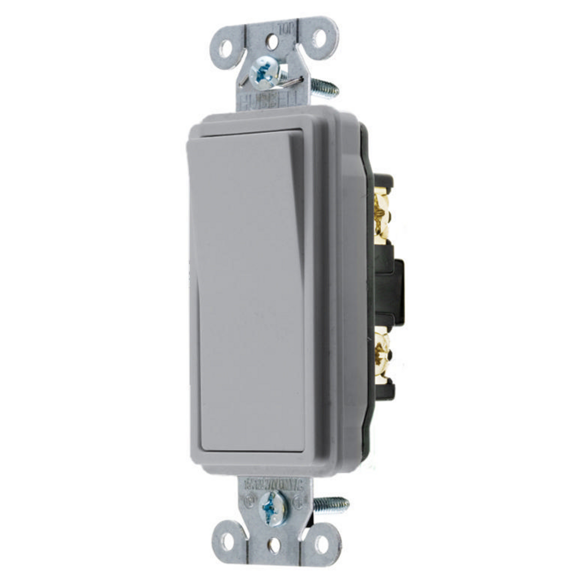 Hubbell DS420GY SWITCH, DECO SER, 4W, 20A 120/277V, GY