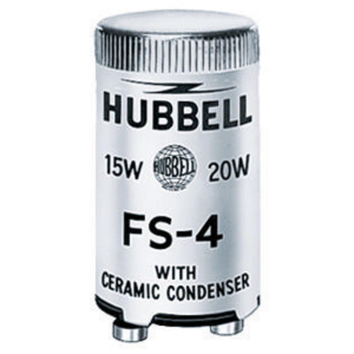 Hubbell FS4 13/30/40 W Neostart Fluorescent Starter