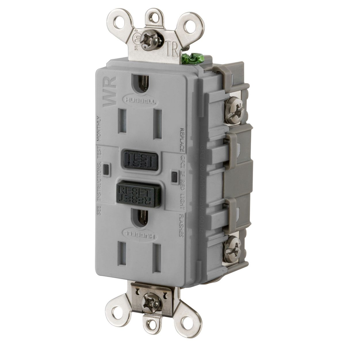 Hubbell Wiring Devices GF5262SGGY