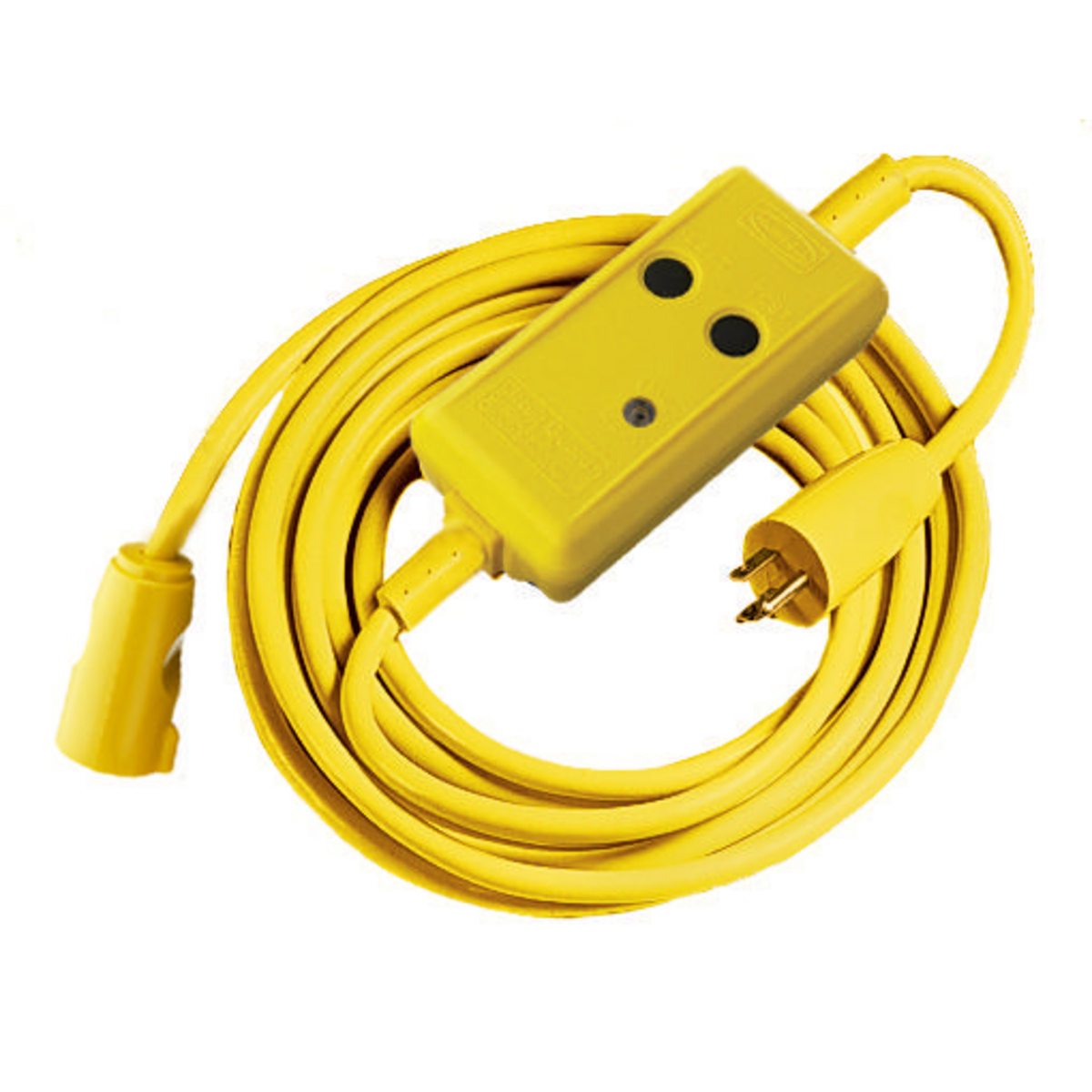 Hubbell GFP25C15A 15 Amp 120 VAC 25 Foot Automatic Set Portable GFCI Line Cord