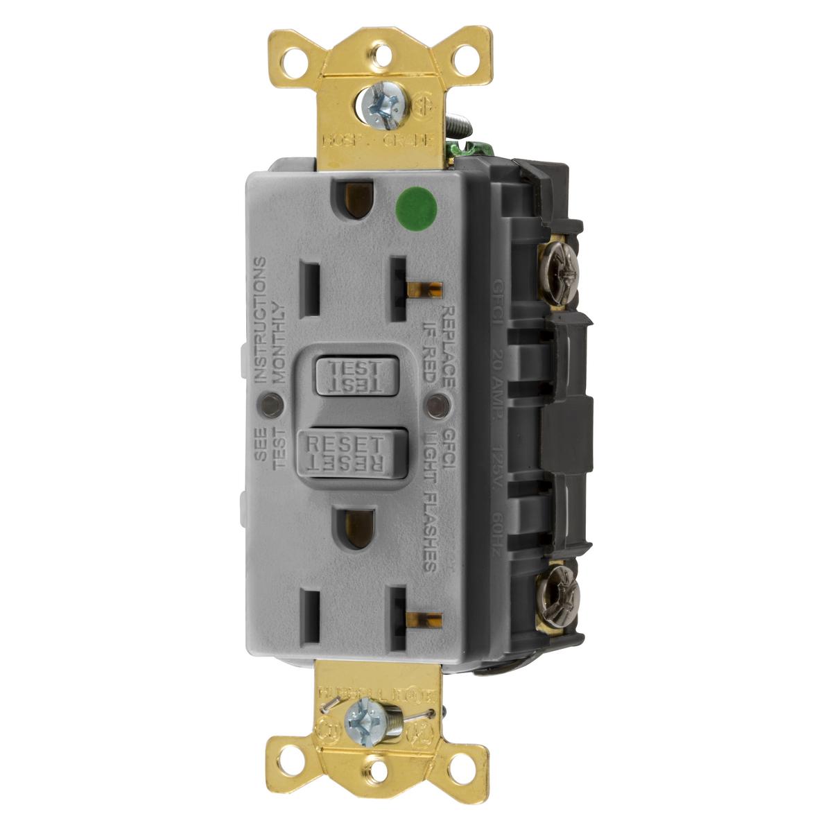 GFRST83GY | Brand | Wiring Device - Kellems