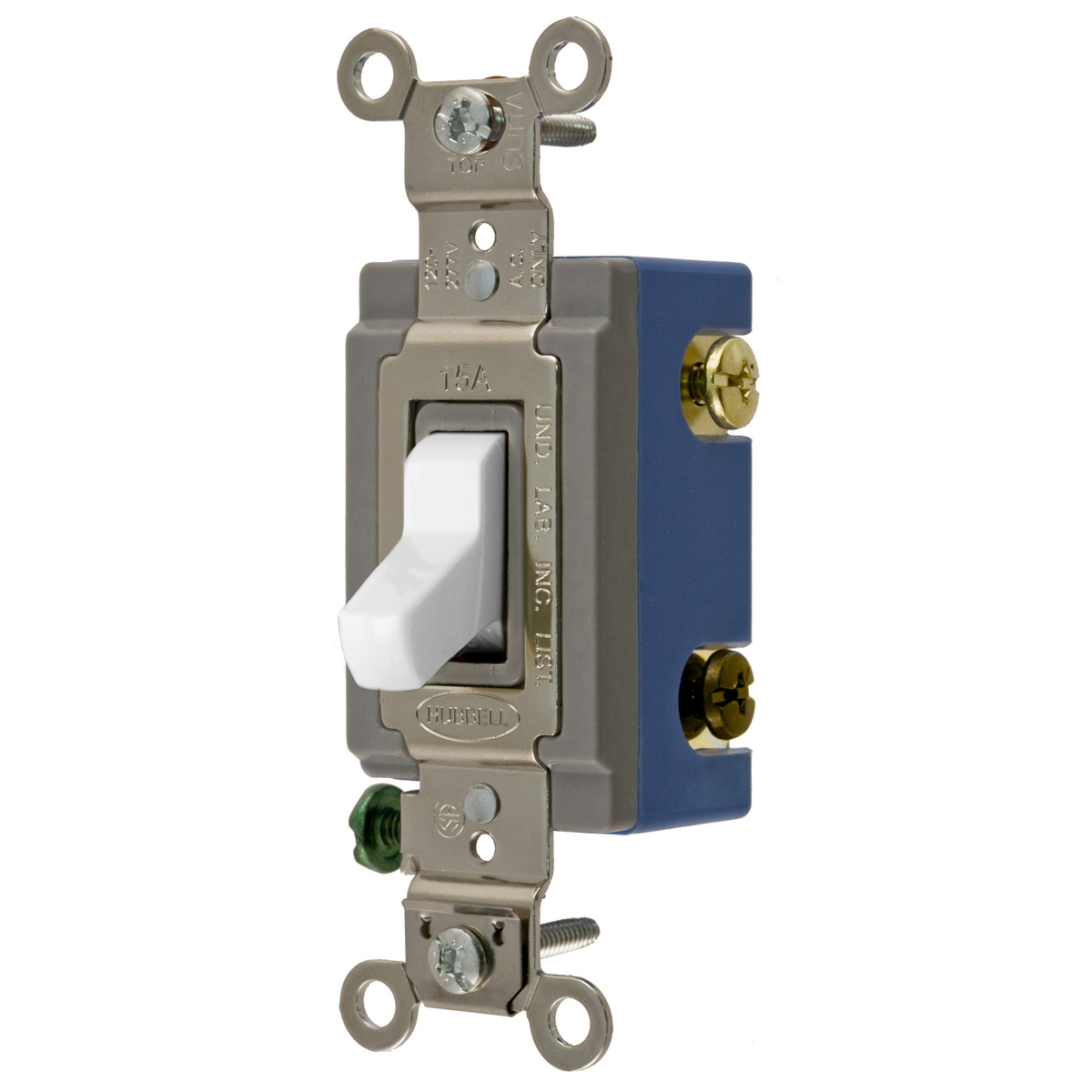 Hubbell Wiring Devicekellems Hbl1203gy Wall Switch 3way Toggle