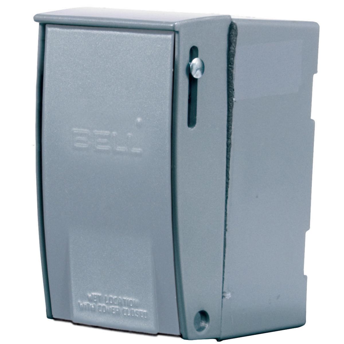 Hubbell HBL13R13D 30 Amp 600 VAC 3-Pole NEMA 3/3R Aluminum Disconnect Switch Enclosure