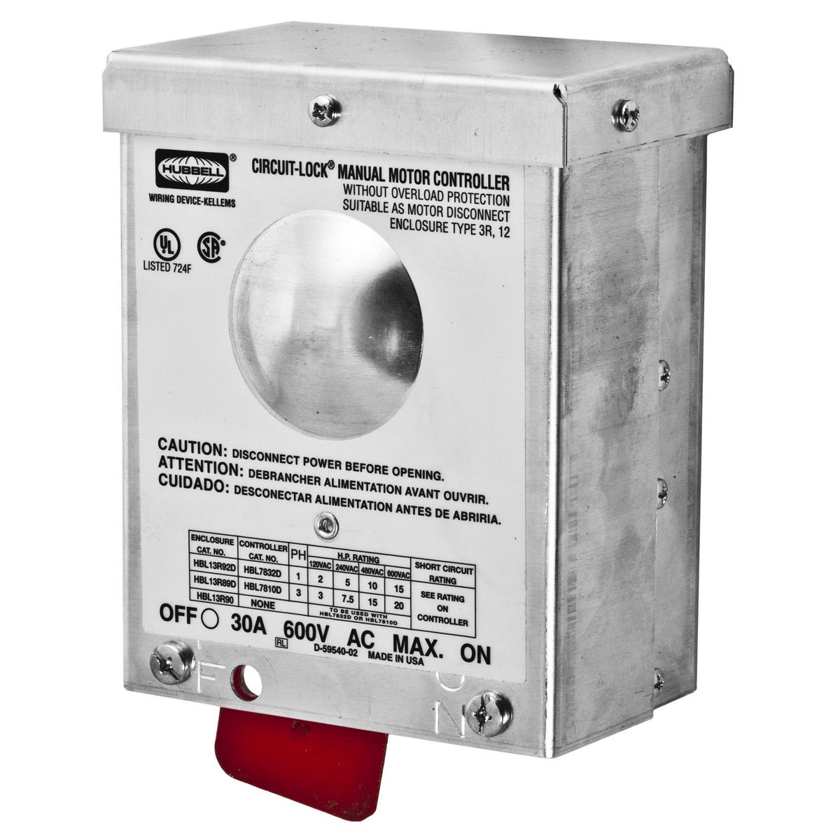 Hbl13r89d Brand Wiring Device Kellems