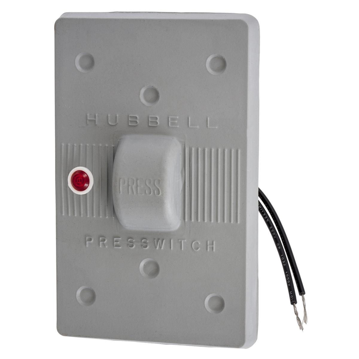 Hubbell HBL1785 Gray Neoprene Weatherproof Plate