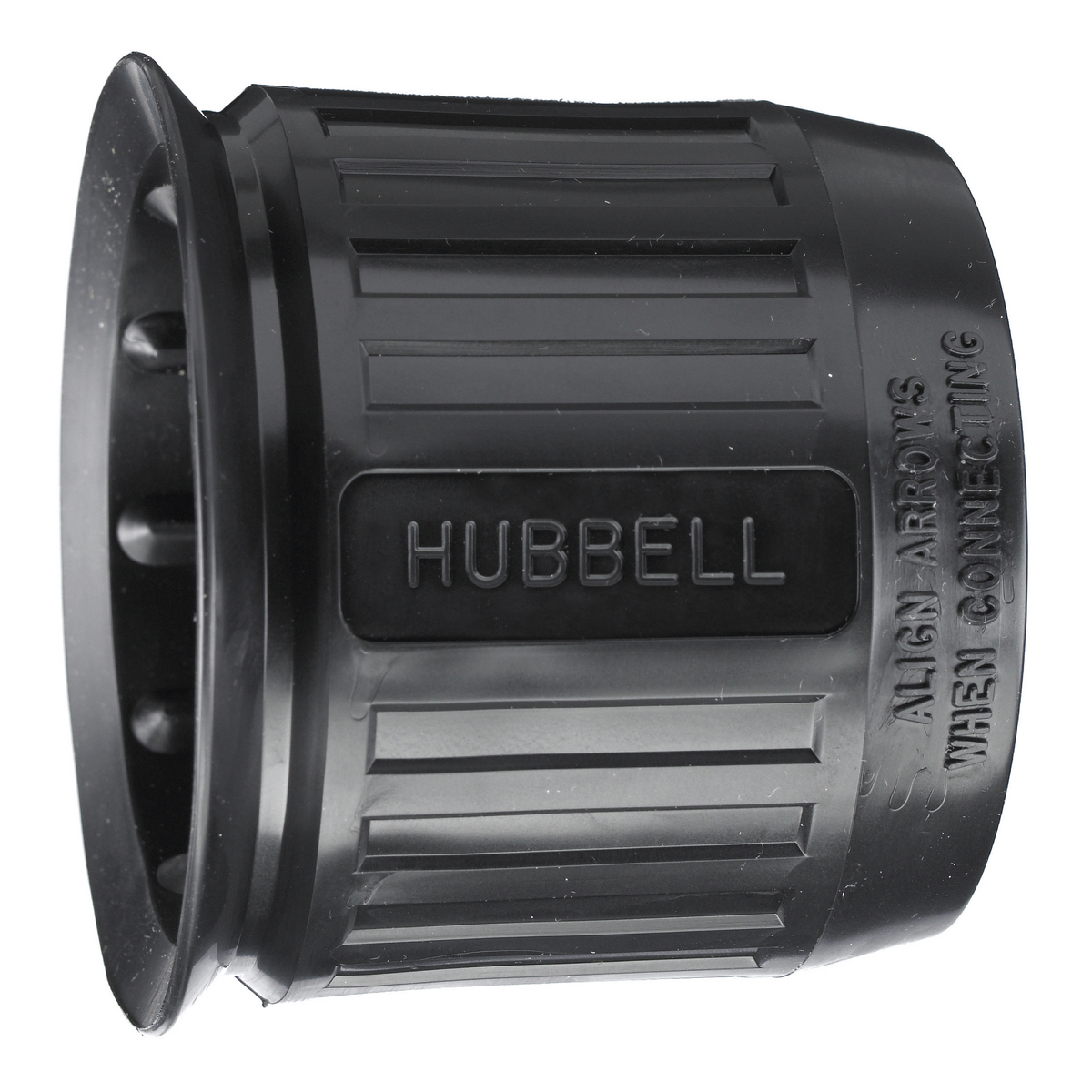 Hubbell HBL20425B w/PROOF BOOT FOR 30A HUBBELLOCK, LONG