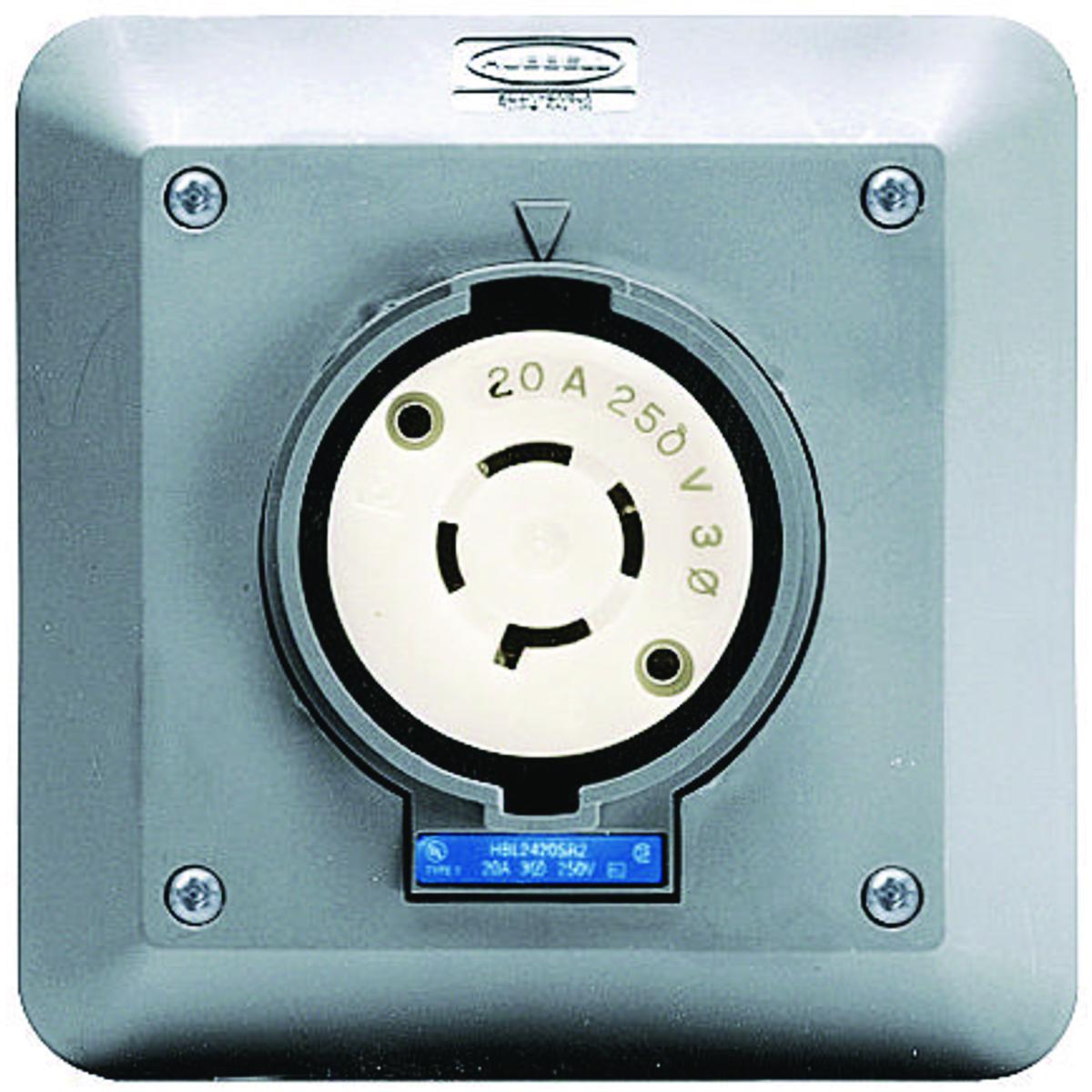 HBL2420SR2 | Brand | Wiring Device - Kellems
