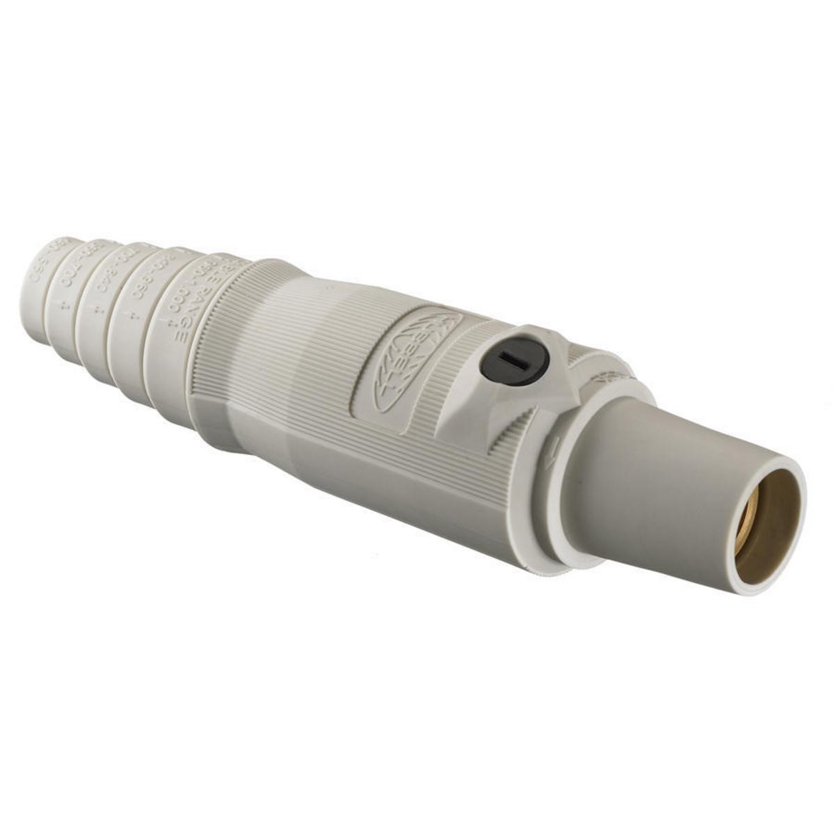 Hubbell HBL300FW 300 Amp White FeMale Plug