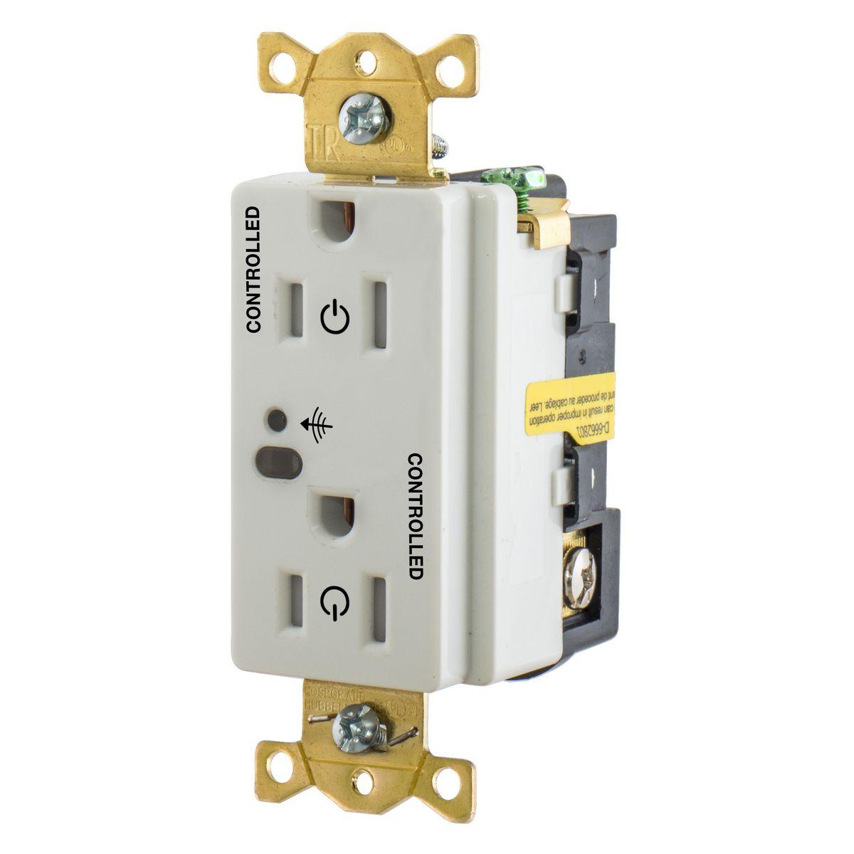 HBL5262RFC2GN | Automatic Receptacle Control | Lighting Controls ...