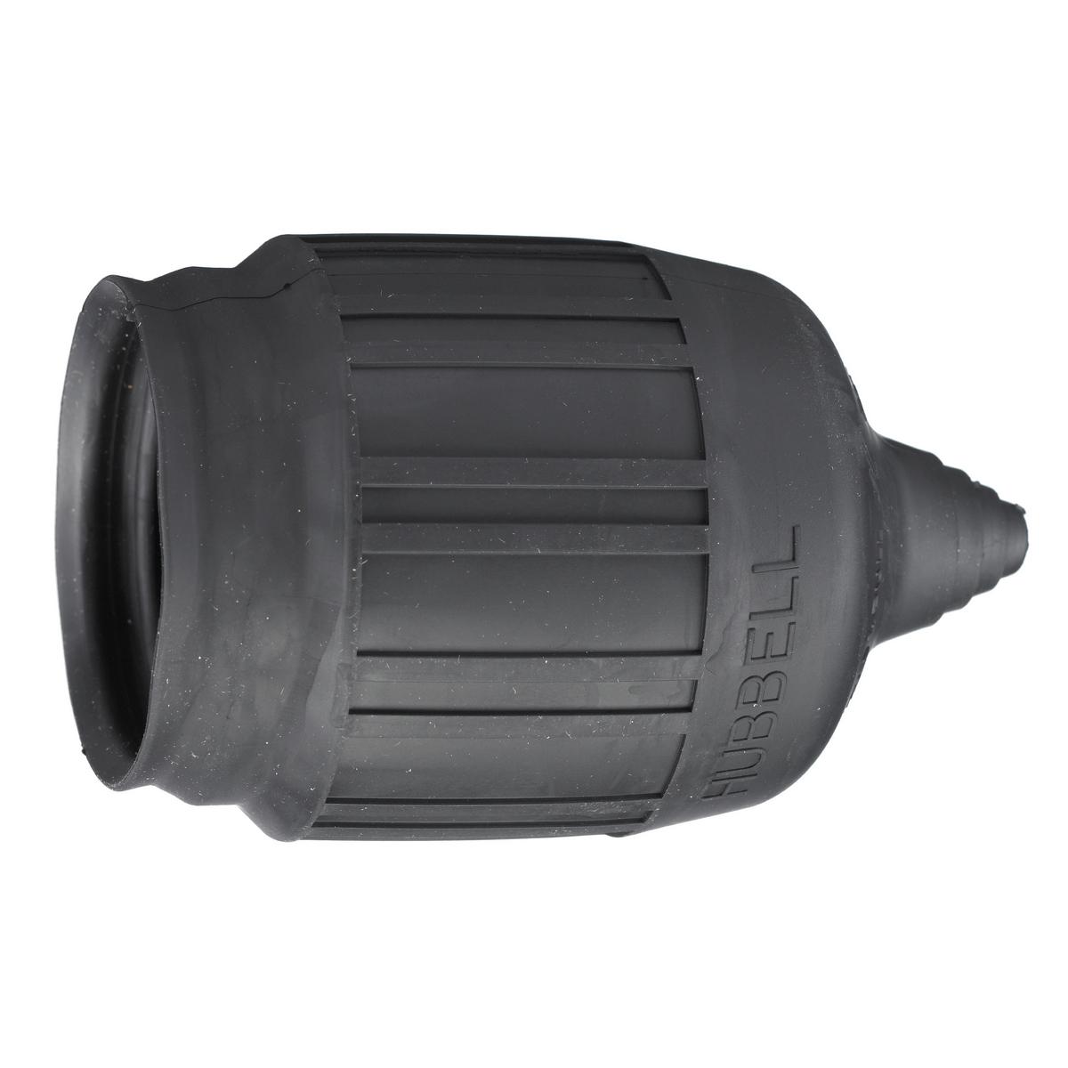 Hubbell HBL6031 Twist-Lock Black Weatherproof Seal-Tite Boot