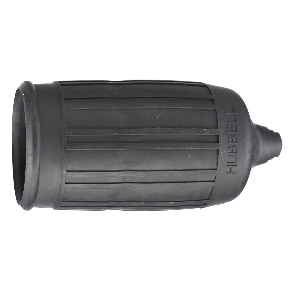 Hubbell HBL6032 Twist-Lock Black Weatherproof Seal-Tite Boot