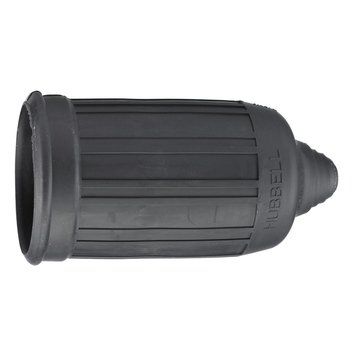 Hubbell HBL6036 Black Straight Blade Weatherproof Boot