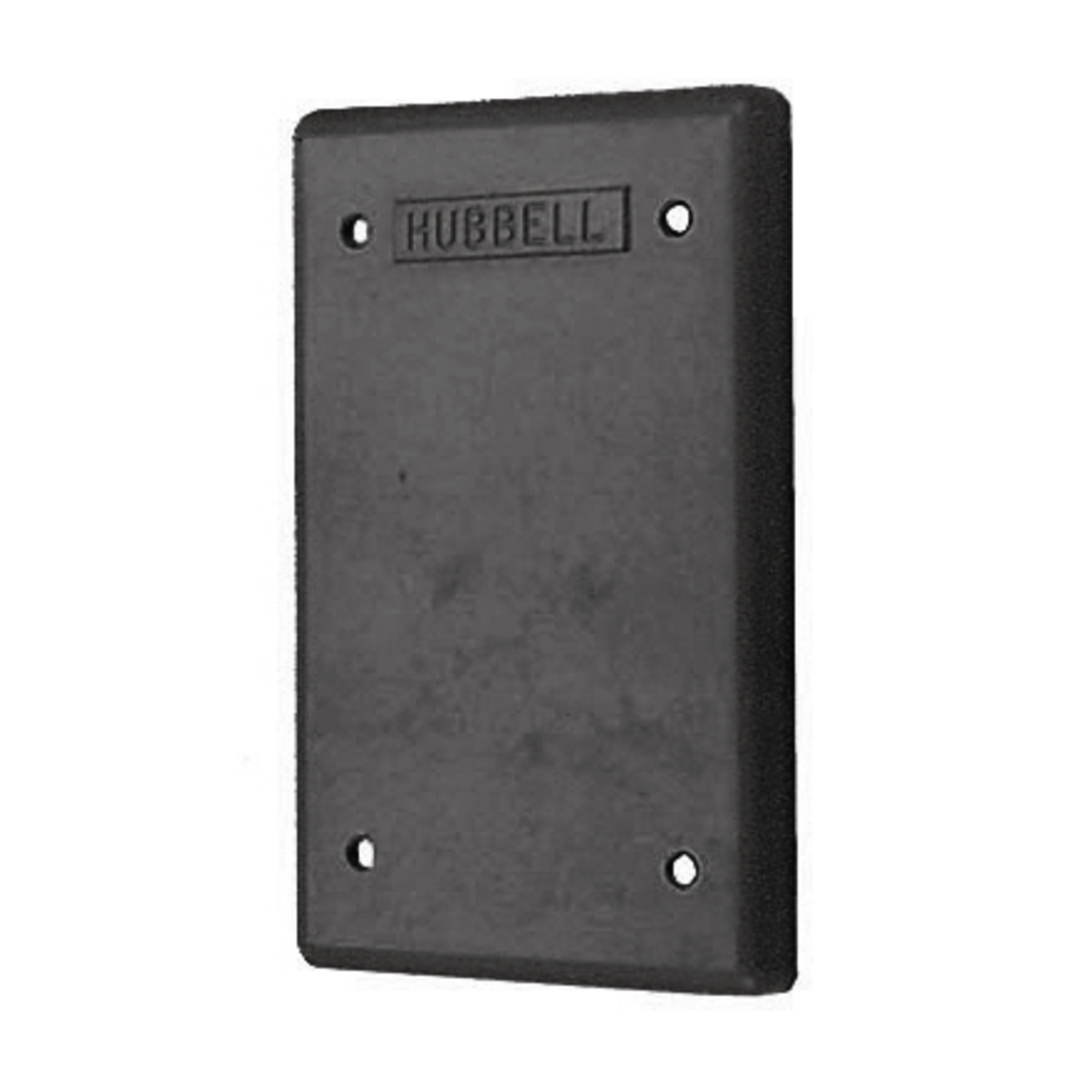 Hubbell HBL6087COVER FOR 6080OS BOX, BK PHENOLIC