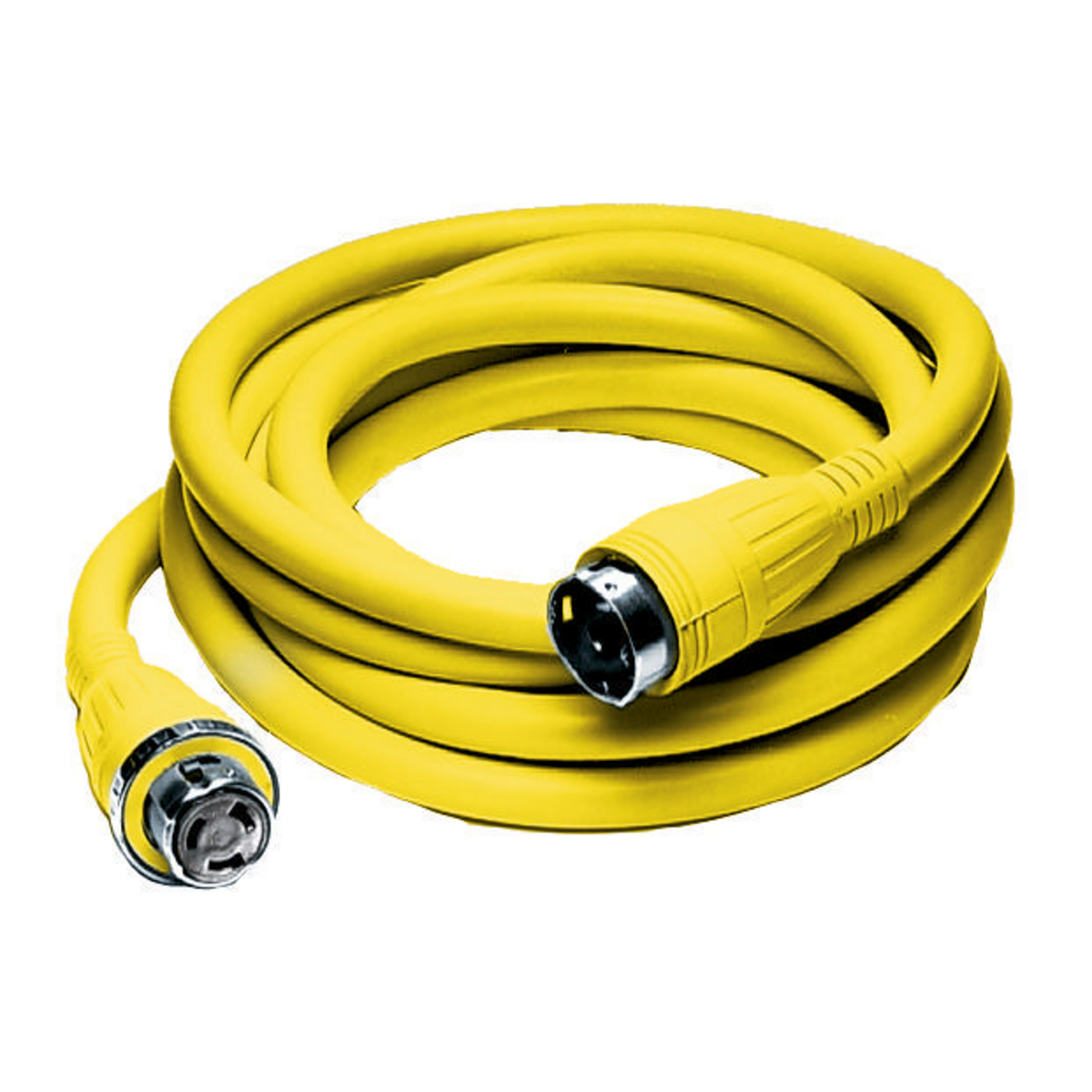 Hubbell HBL61CM42 Marine CABLE, 25', 50A 125/250V, YL