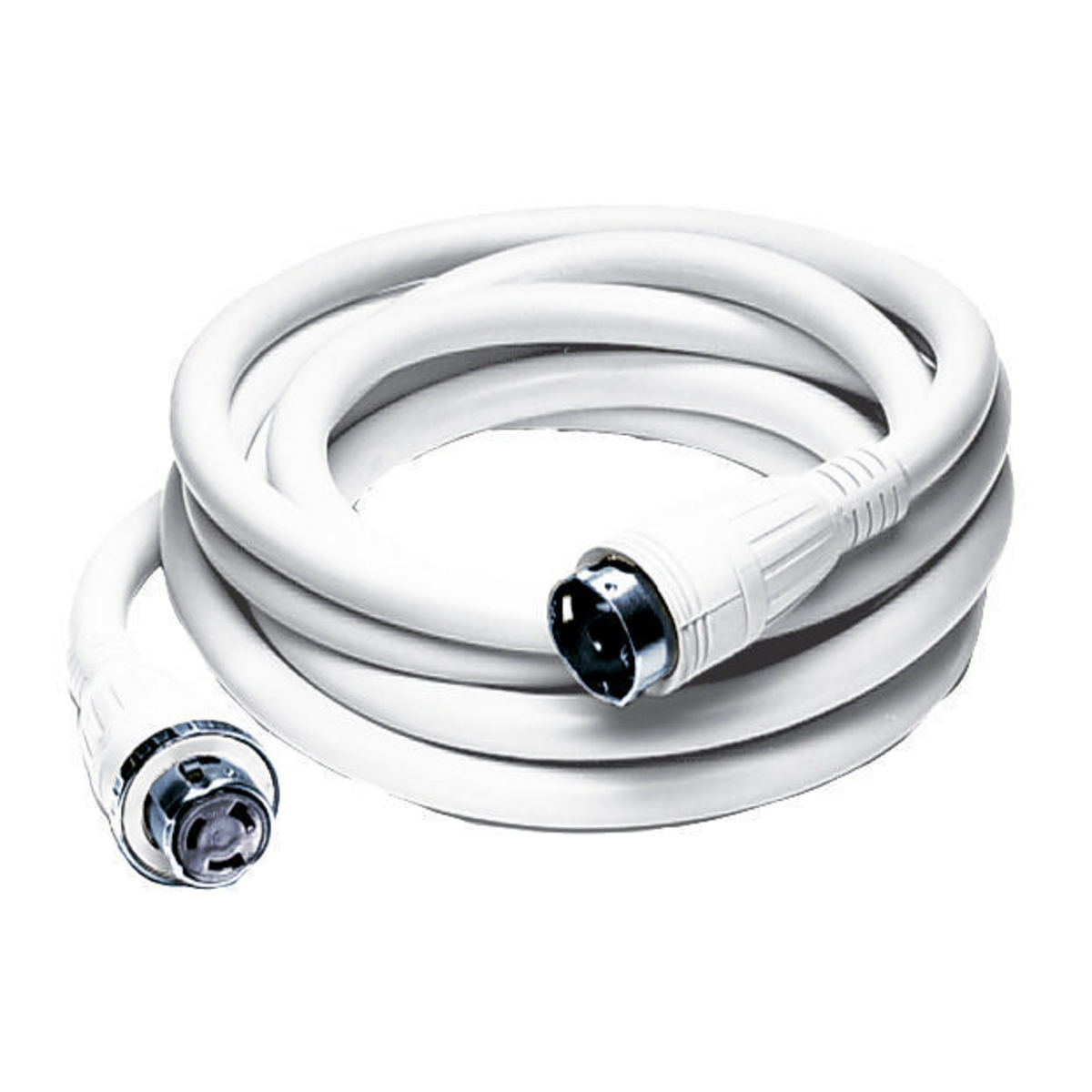 Hubbell HBL61CM52W Marine CABLE, 50', 50A 125/250V, WH