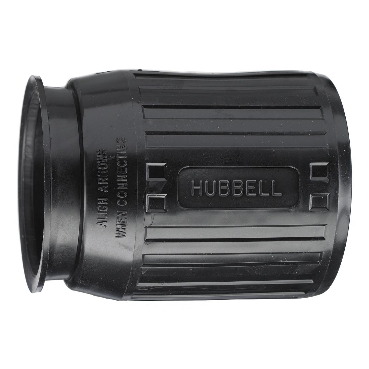 Hubbell HBL7716C Black Weatherproof Device Boot