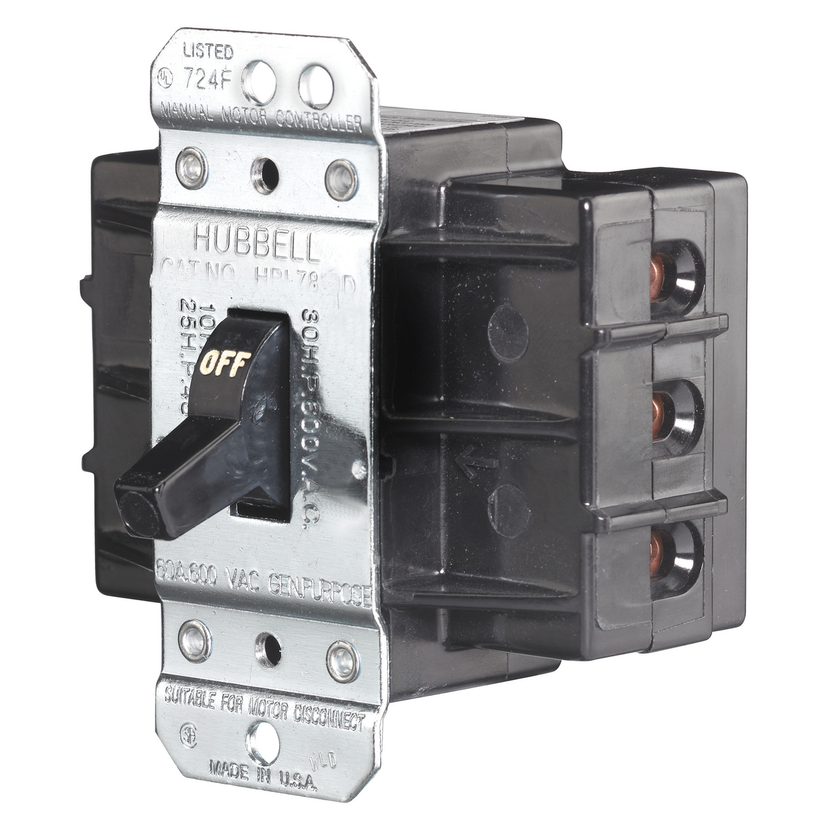 WIRING DEVICE-KELLEMS HUBBELL HBL7863D HUBBELL WIRING DEVICES ...