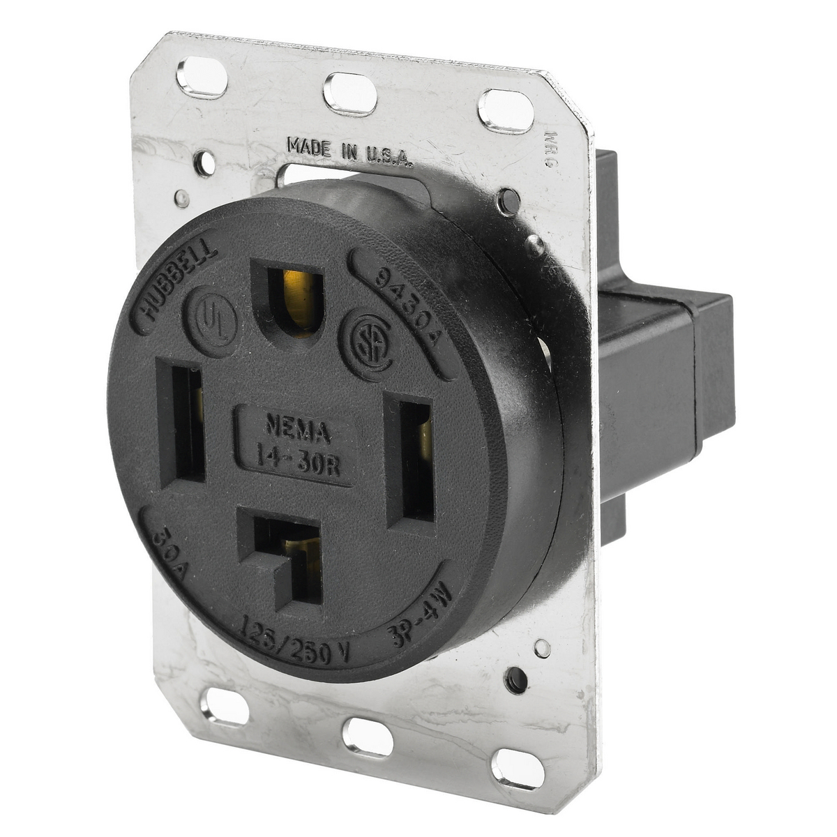 Hbl9430a Brand Wiring Device Kellems A Wall Socket