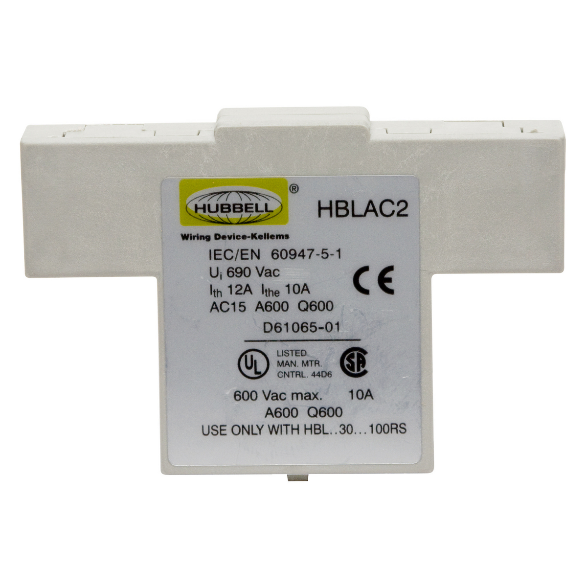 Hblac2 Brand Wiring Device Kellems