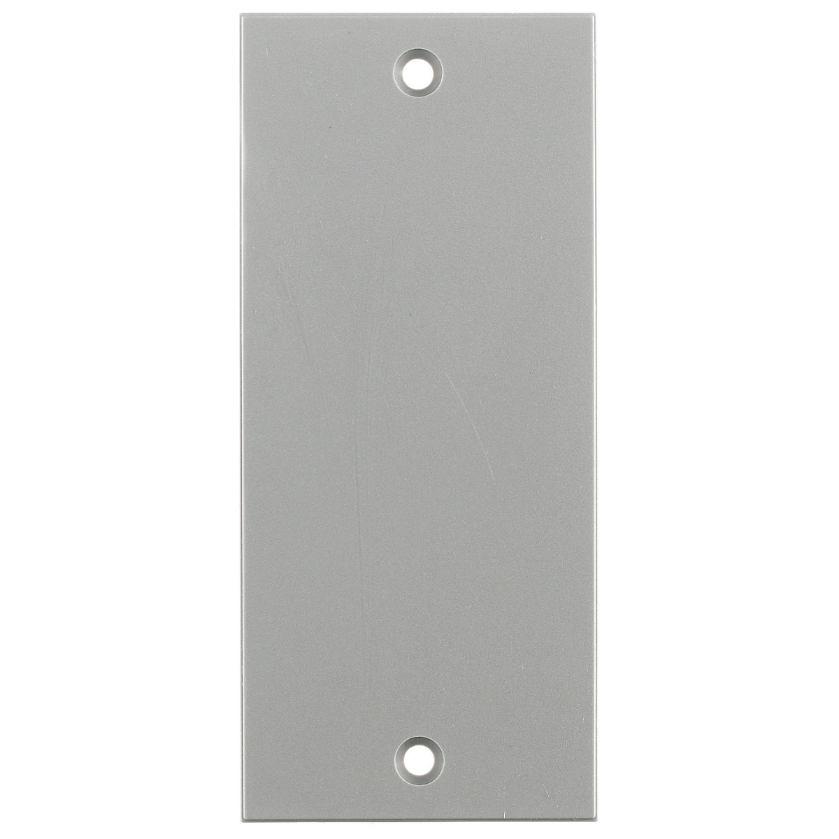 Hubbell HBLBL300SGY 2 x 4.5 Inch Gray Blank Screw Type Face Plate