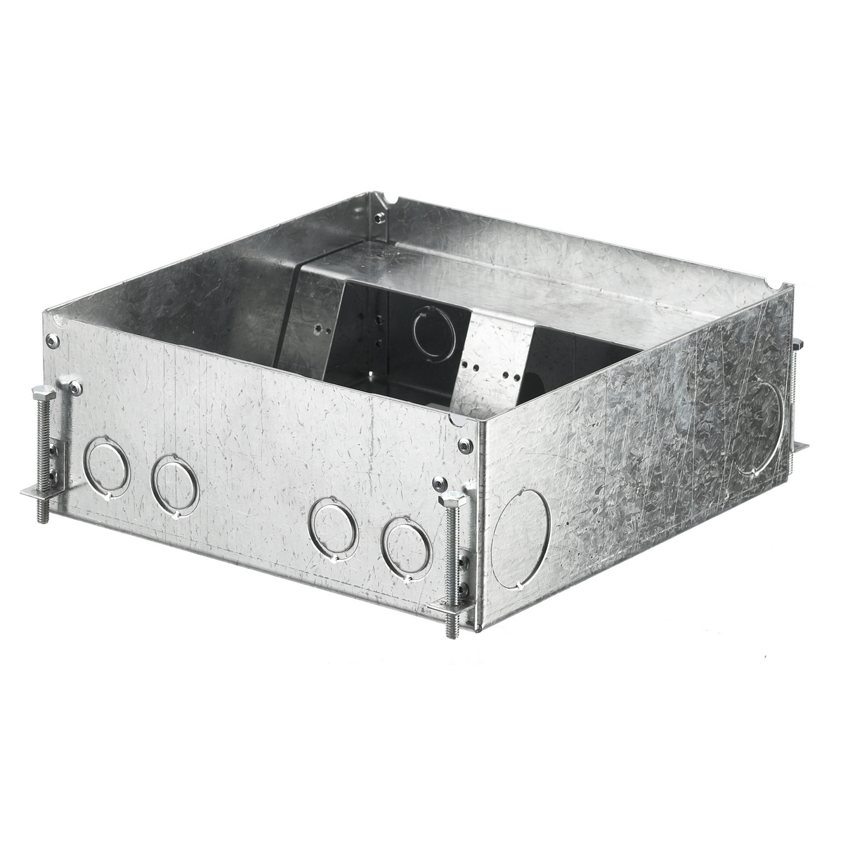 F-BOX, CONCRETE, 4 GANG DEEP