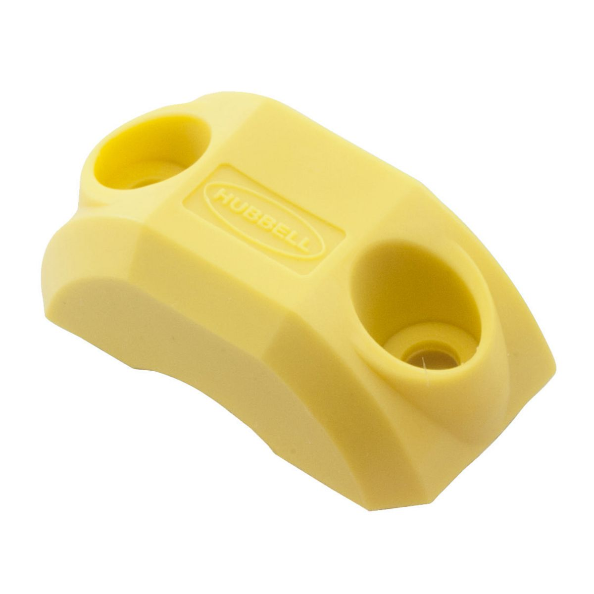 Hubbell HBLCORDCLAMPY INSULGRIP SIZE 1 CORD CLAMP YELLOW