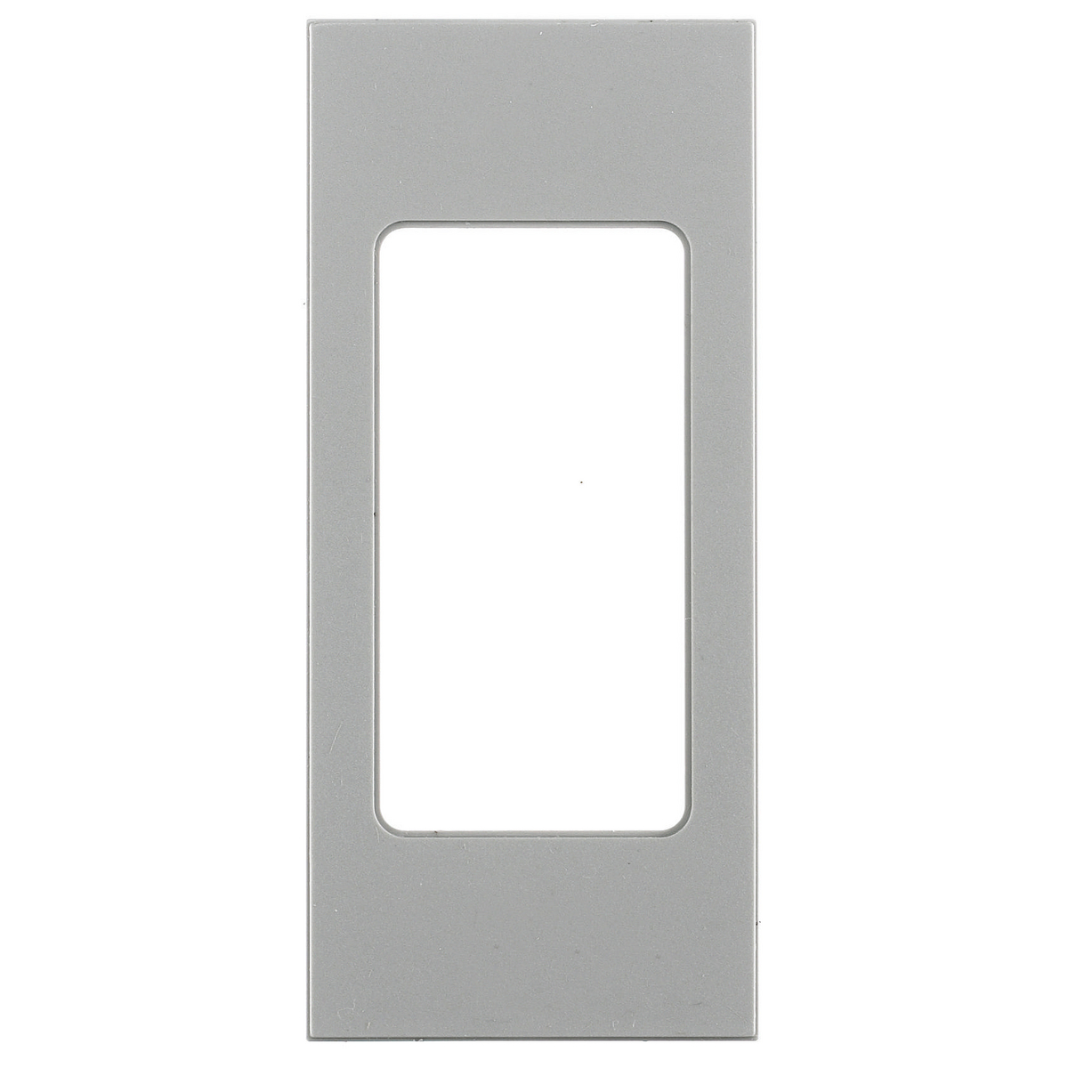 Hubbell HBLDE301GYFACEPLATE, SNAP-IN, GFCI, GY