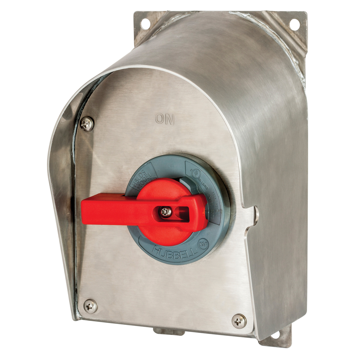 SLOPED DISC, 60A UNFUSED, 4X, SS, W/AC