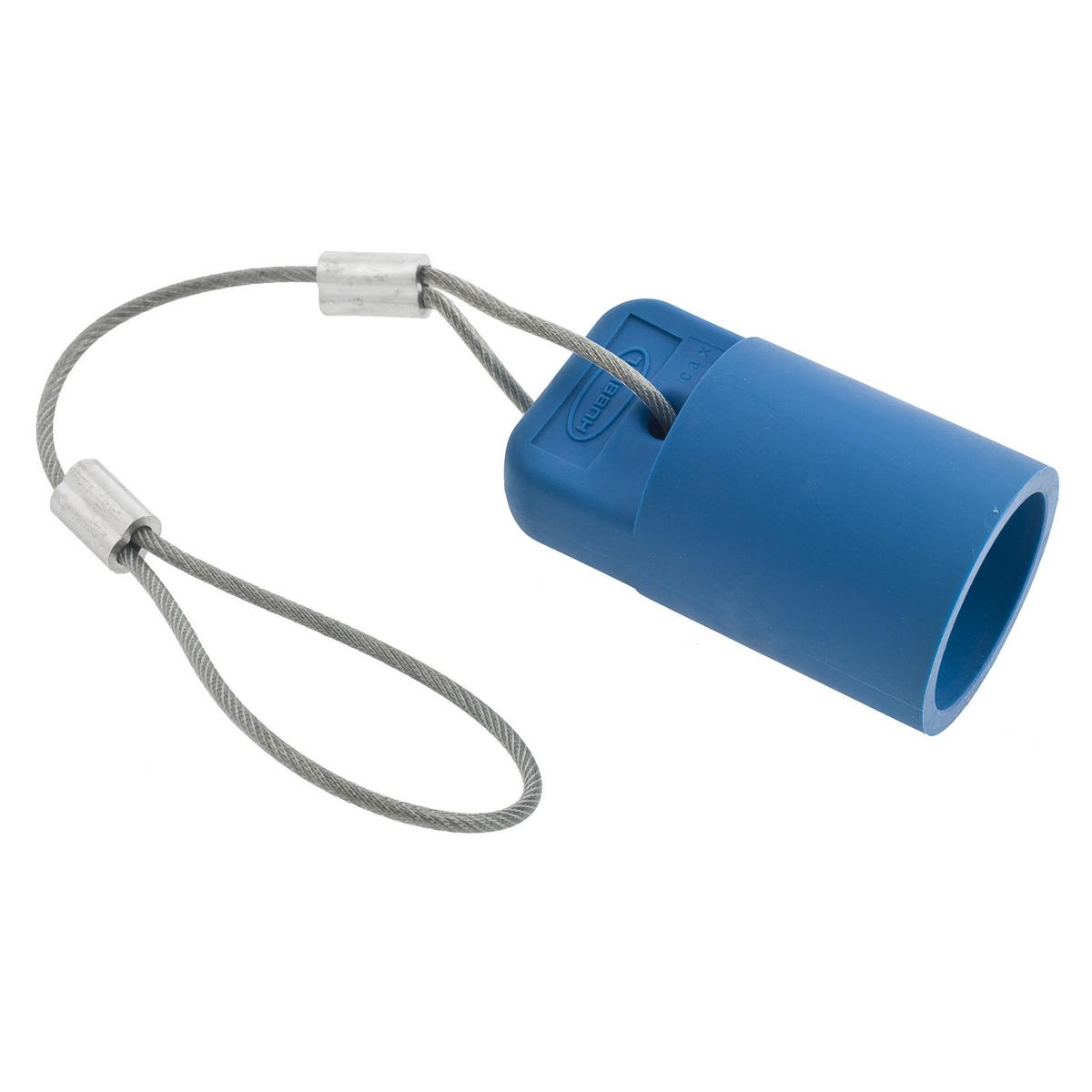 Hubbell HBLFCAPBL Blue FeMale Cam Type Plug/Receptacle Protective Cap