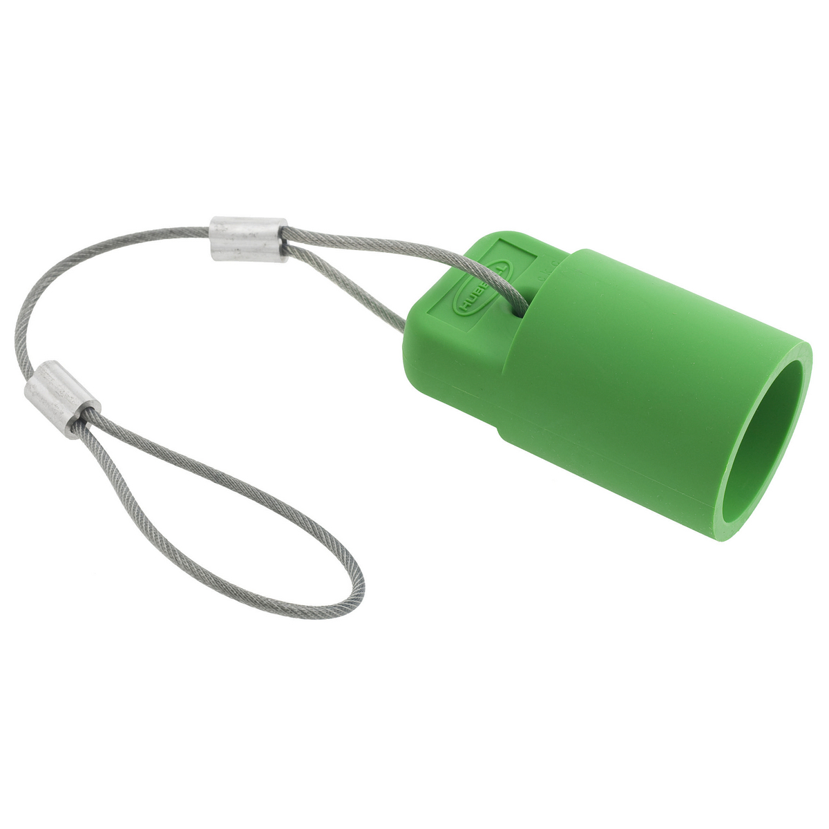 Hubbell HBLFCAPGN Green FeMale Cam Type Plug/Receptacle Protective Cap