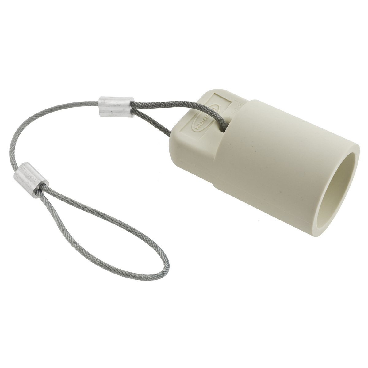Hubbell HBLFCAPW White FeMale Cam Type Plug/Receptacle Protective Cap