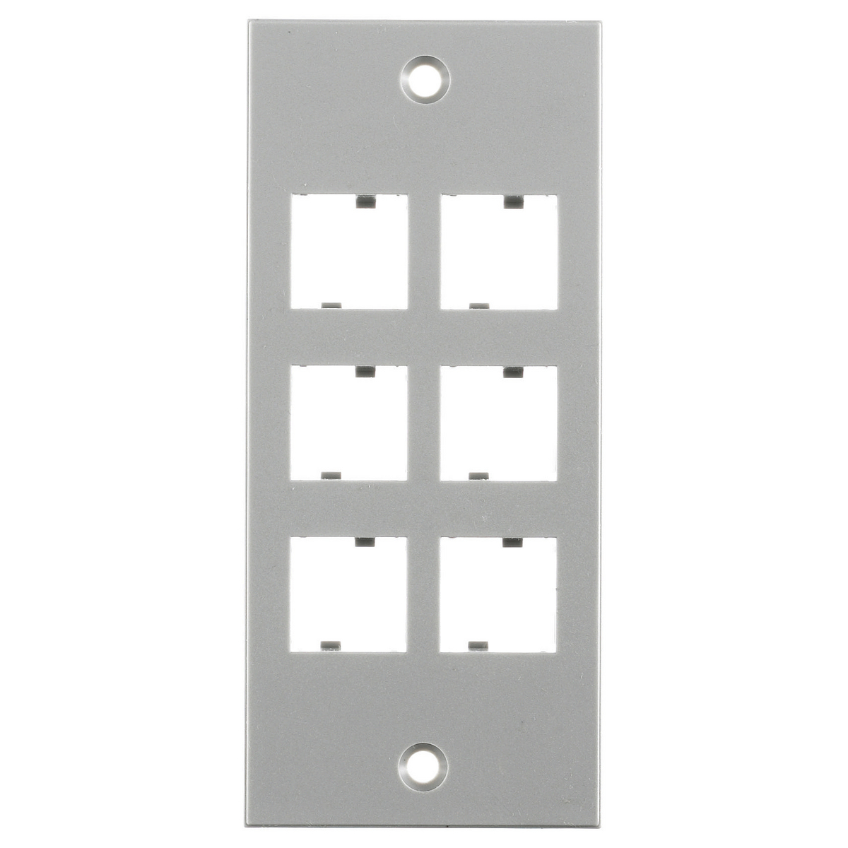 Hubbell HBLNO309SGYFACEPLATE, SCREW MT, NORDX, GY