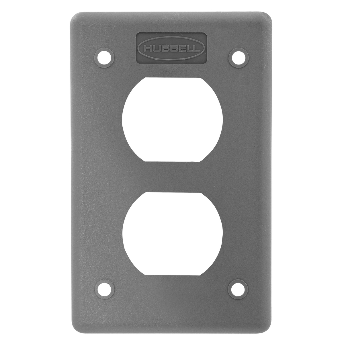 POB COVER PLATE, DUP, GRAY