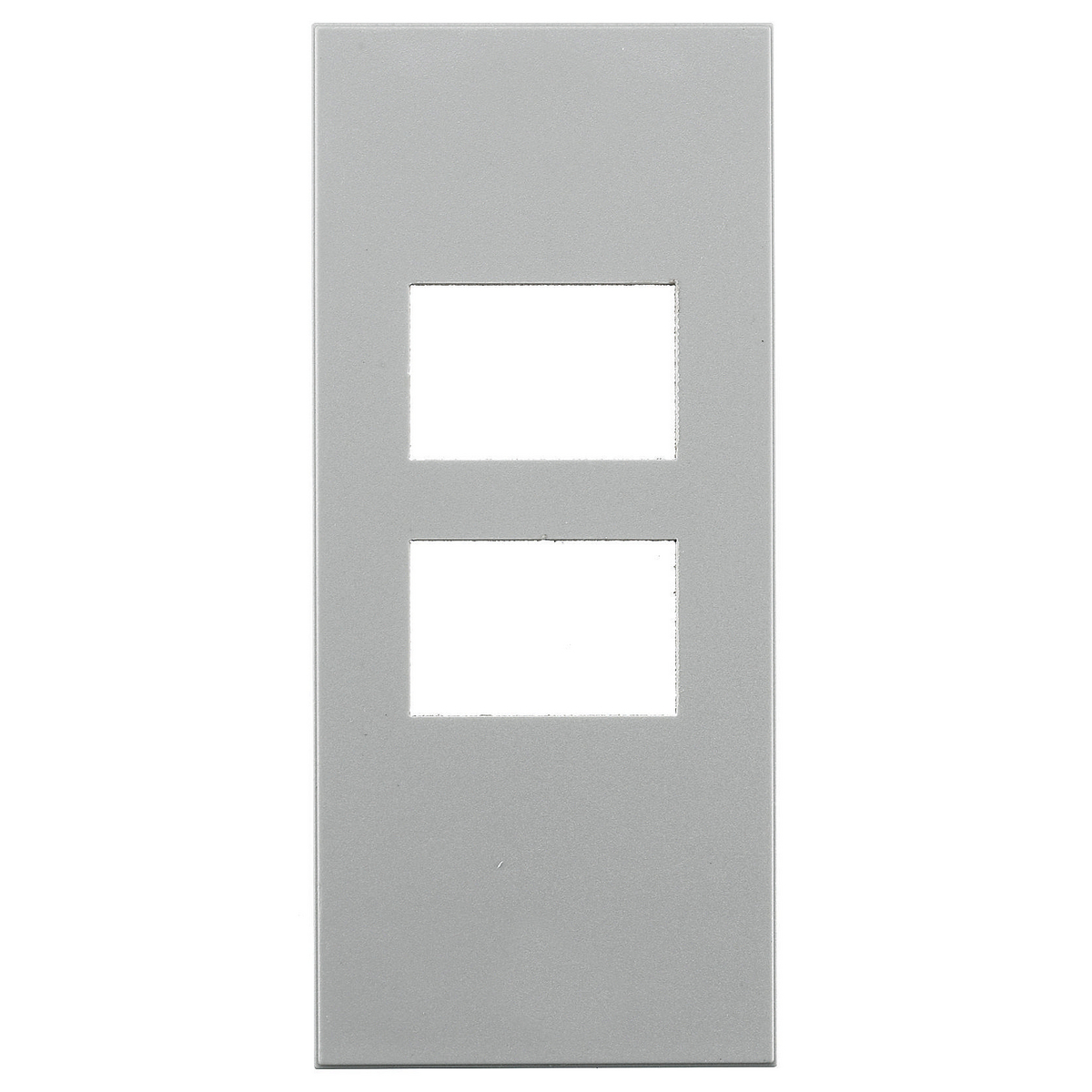 Hubbell HBLSI315GYFACEPLATE, SNAP-IN, SIEMON #2, GY