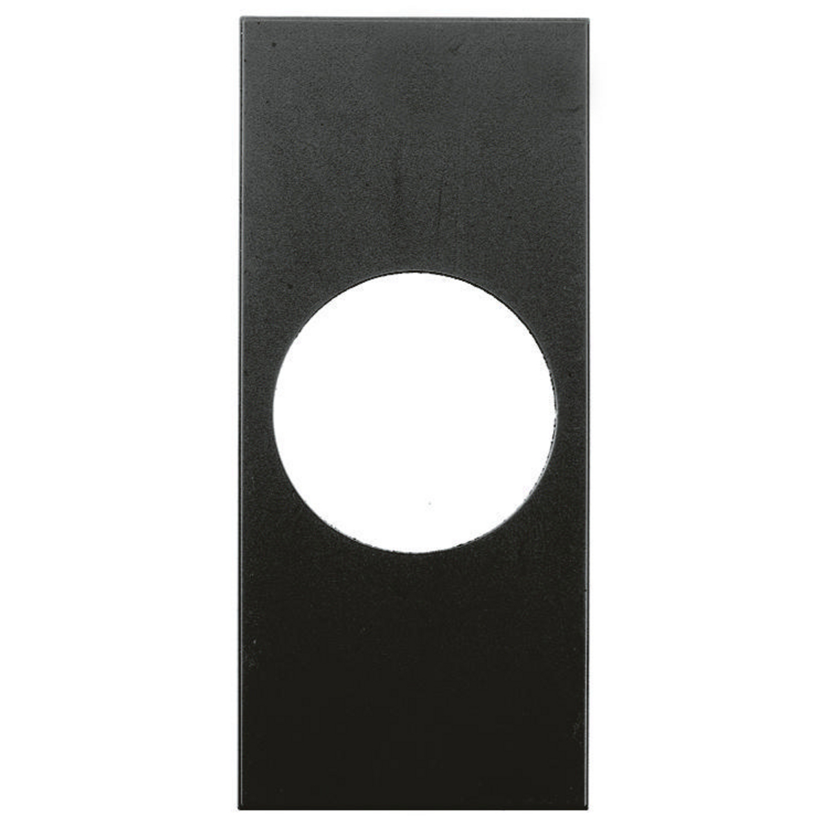 MOD FACE PLATE,T-L 20A,SNAP-IN,BK