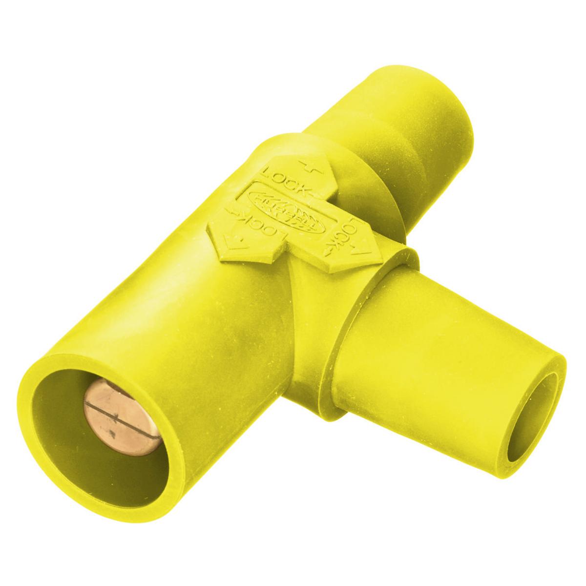 Hubbell HBLTY Single Pole, TAPPING T, FEM-FEM-MALE, YL