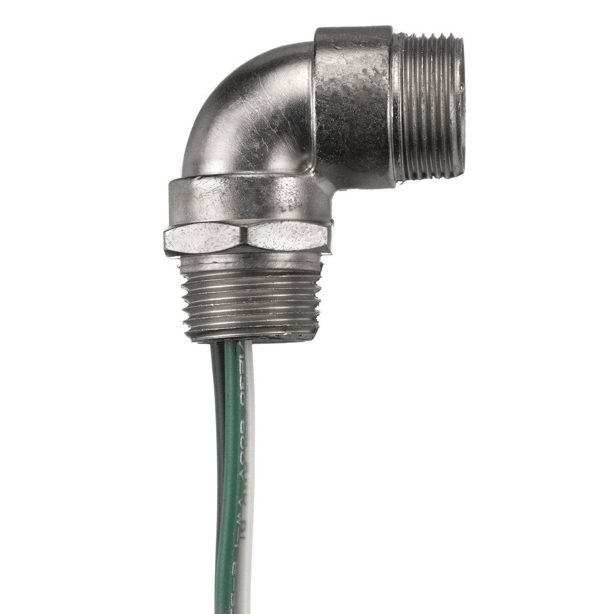 Hubbell HBMA06501 Mini-Quick, ML ANG Receptacle, MET, 6P, 16/6, 1'
