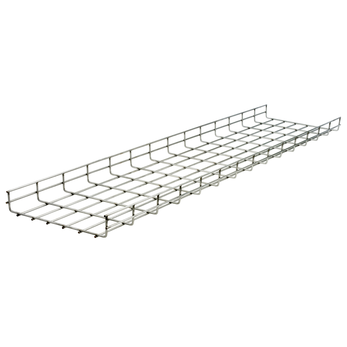 HUBHBT0212 WB,TRAY,OVRHD,2IN HX12IN WX118IN L,PREGALV,RND ,HBT0212, HUBBELL