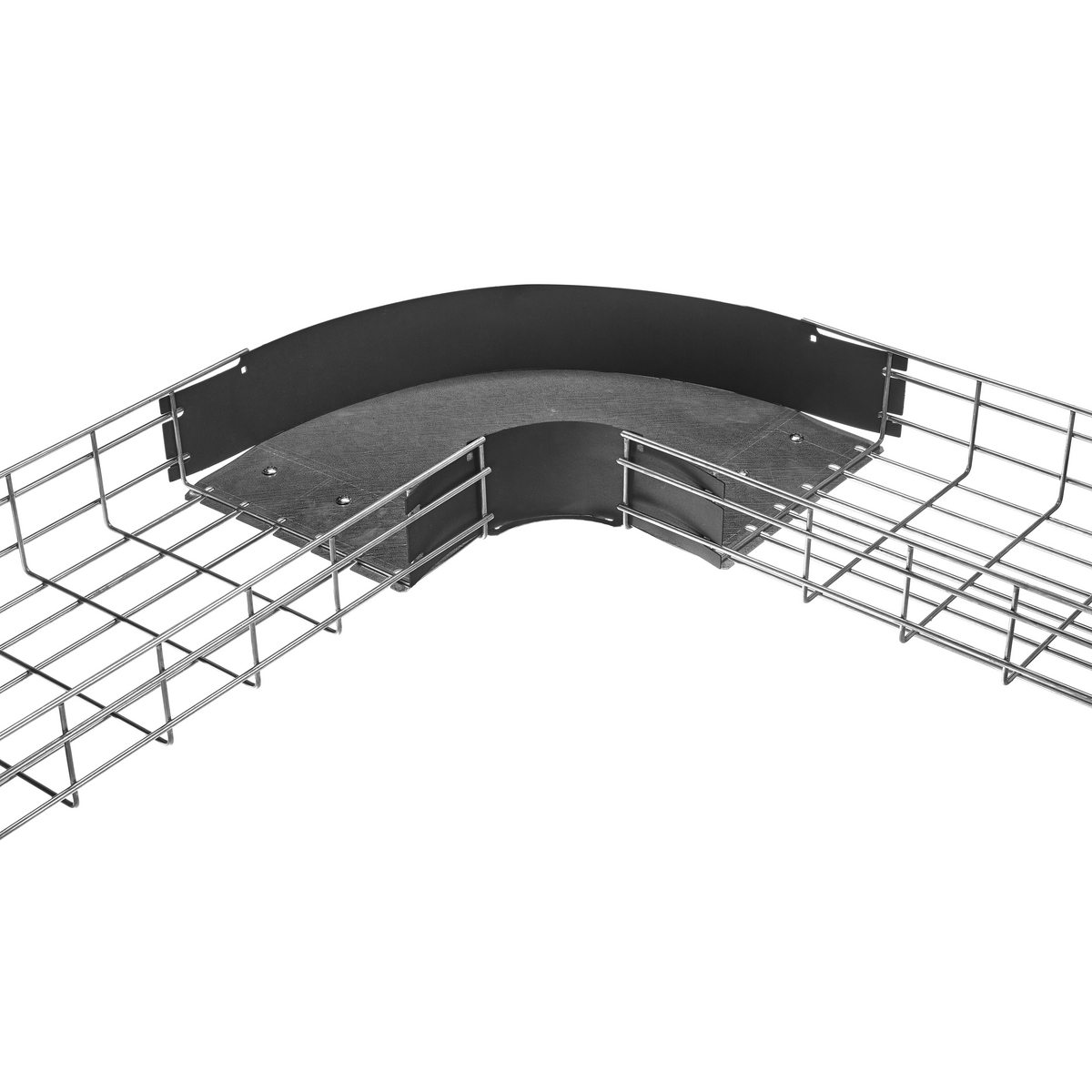 Enclosures Wireways Wire Duct And Cable Trays Electrical Or Wiring Raceway Track Device Kellems Tray Bend Pre Formed Standard 4 In Width