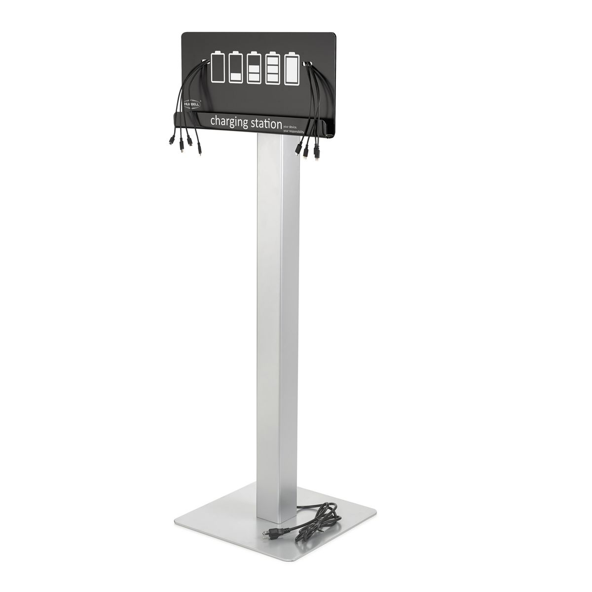 HUBBELL CHARGE STATION, FLOOR STAND