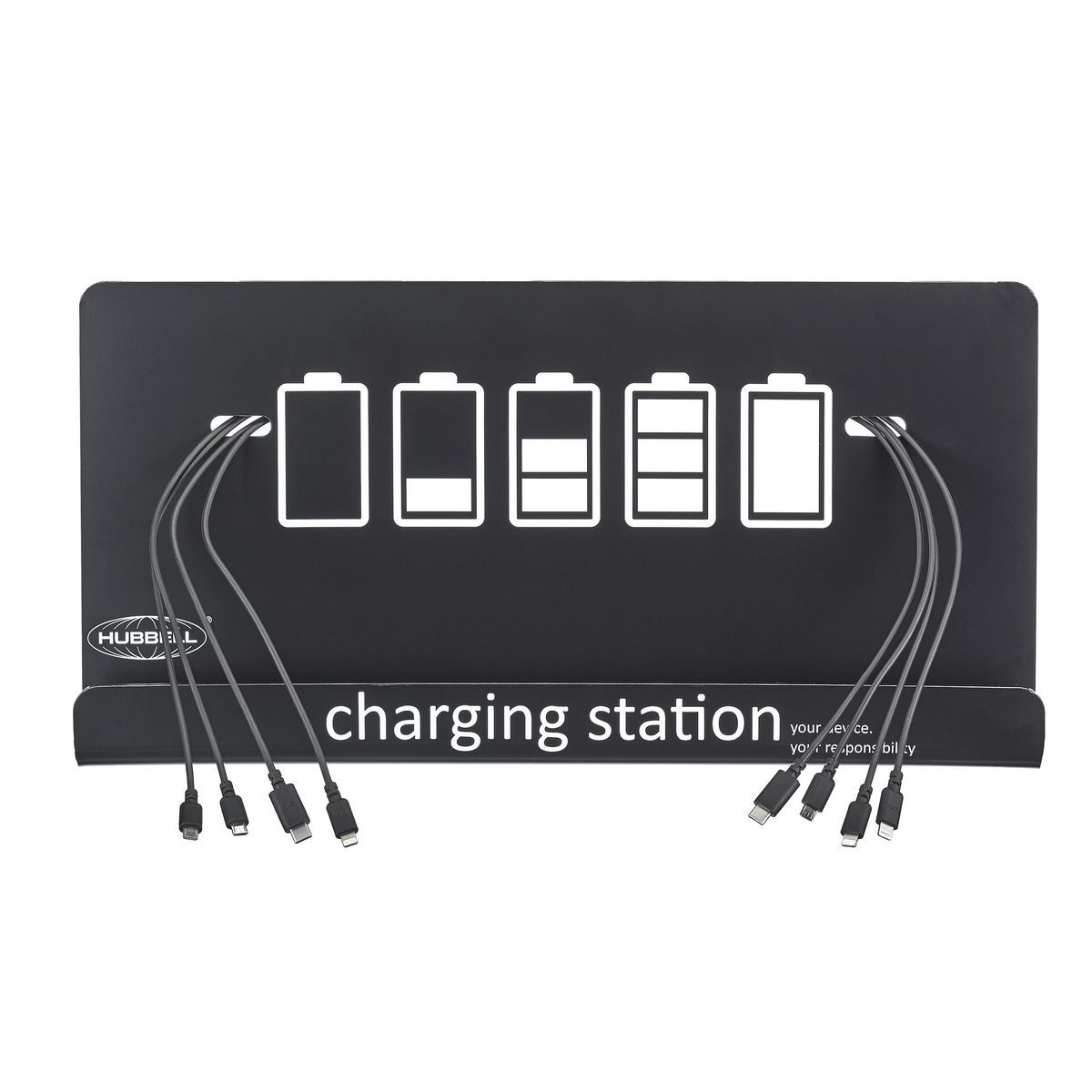 HUBBELL CHARGE STATION, WALL MOUNT