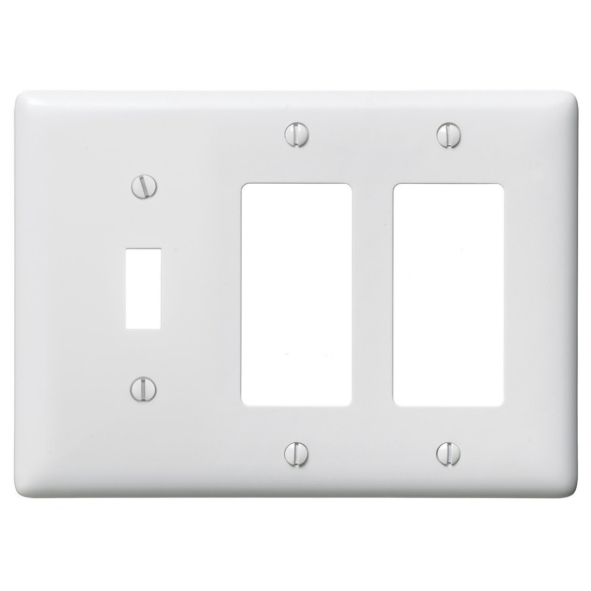 Premise Wiring Hubbell Np1262w Wallplates And Box Covers Wallplate