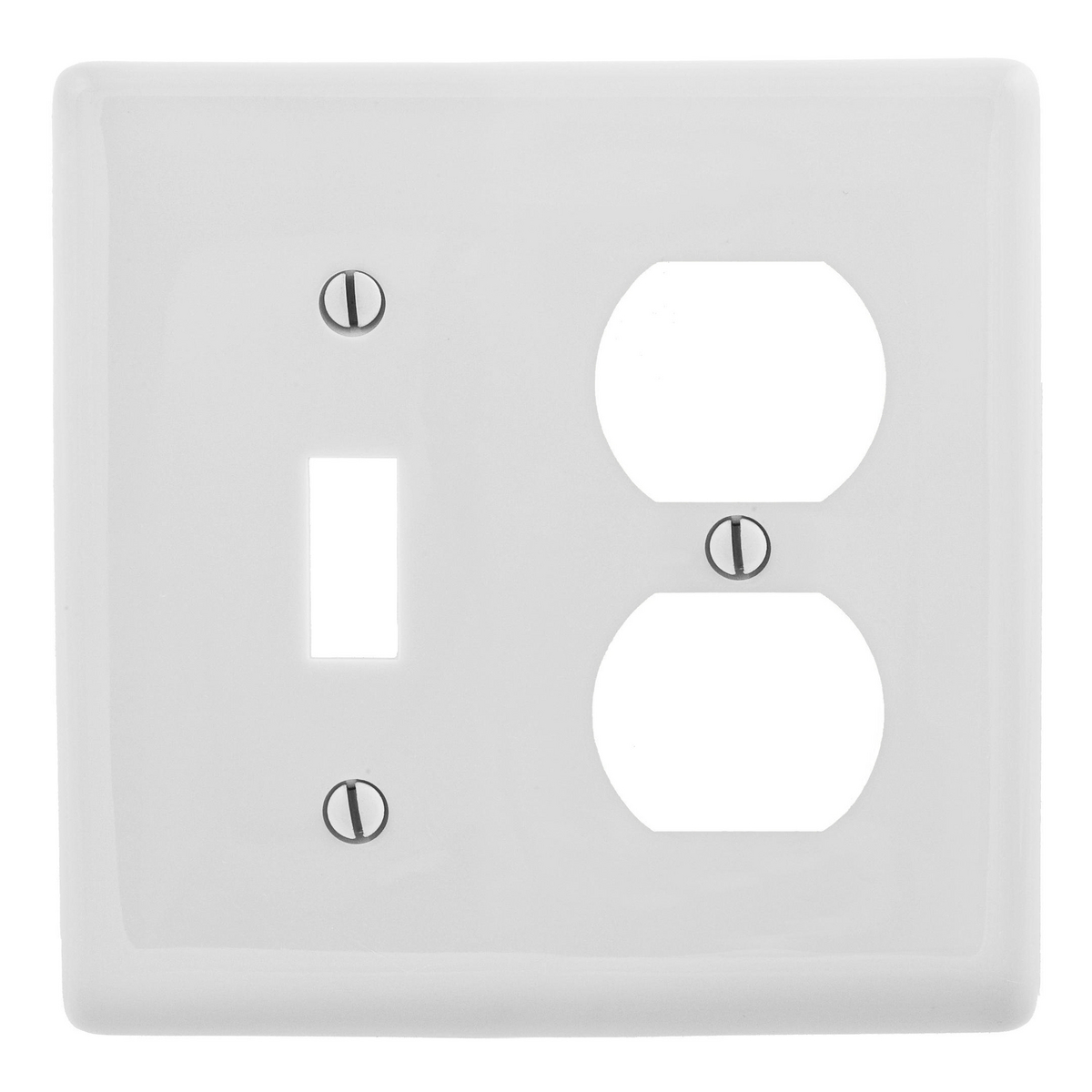 WALLPLATE, 2-G, 1) DUP 1) TOG, OW